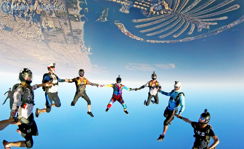 Augusto Skydive Dubai Staff (Photo)